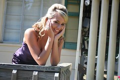autumn formal ~ at home (marybeth.masterson) Tags: school purple gown autumnformal