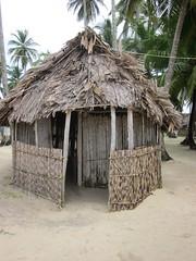 Guna Yala (San Blas Islands), Panama (Jul-2013) 027 (MistyTree Adventures) Tags: panama centralamerica canonpowershot sanblasislands gunayala outdoor sand trees hut dwelling