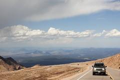 Pike's Peak, CO (Patty (in Dallas)) Tags: sky colorado view summit dizzy pikespeak