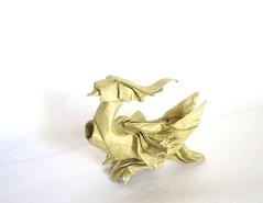 Mandarin Duck (folding~well) Tags: bird paper duck swan origami goose mandarin folding