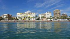 La Playa de San Juan de Alicante (Fotomondeo) Tags: sea espaa beach valencia reflections mar spain playa alicante reflejos lx7 lumixlx7 panasoniclumixlx7