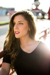 Kayla Baur (Logan Hickle) Tags: light portrait sun 35mm canon photography sam houston sigma stunning shsu