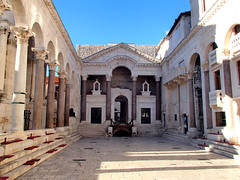 Peristyle to Diocletian's Palace (altamons) Tags: trip travel vacation holiday holidays europe croatia unescoworldheritagesite diocletian walls split diocletianspalace altamons seekingscience