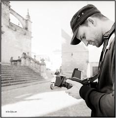 Severin_Hasselblad (ksadjina) Tags: 6x6 film analog blackwhite spain scan andalusia severin hasselblad500cm jerezdelafrontera silverfast kodak400tmax 10min adoxaph09 nikonsupercoolscan9000ed carlzeissdistagon40mmf14