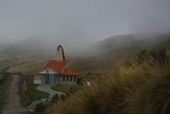Altitude 4100, Quito (1) (Novembre 2013) (Ostrevents) Tags: cloud church montagne quito altitude frog lane andes sur equateur nuage glise brouillard chemin montain equator 4100 hauteur amriquedusud chn 4100m southamrica ostrevents