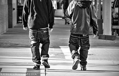 lowriders (Lesley Ross Media) Tags: off falling jeans lowriders
