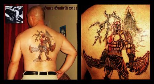 Kratos God Of War Tattoo A Photo On Flickriver