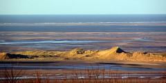 All quiet out on the Irish Sea (billnbenj) Tags: cumbria barrow sanddunes sandhills irishsea walney walneyisland