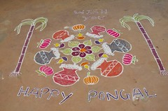 happypongal (A.M. Martz) Tags: pongal auroville kulam