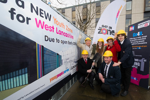 Shovels ready for the West Lancs Youth Z by Lancashire County Council, on Flickr