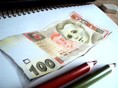 sketch Olha Moiseienko (olhamoiseienko) Tags: money pencil sketch sketchbook coloredpencils