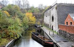 Lime Kilns & Canal Arm (R~P~M) Tags: uk greatbritain england museum canal unitedkingdom wharf lime kiln waterway tipton blackcountrylivingmuseum