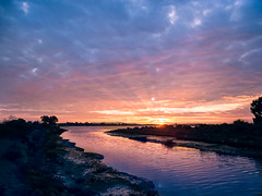 Damon Slough Sunset (luqmac) Tags: california usa oakland eastoakland eastbayregionalparkdistrict sanleandrobay mlkshoreline martinlutherkingjrregionalshoreline damonslough edgewaterseasonalwetland garretsonpoint nikoncoolpixp7000