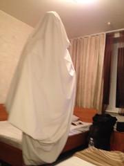 Het spookt in het hotel!