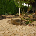 """Eye Catching Patio by Greenhaven Landscapes <a style=""""margin-left:10px; font-size:0.8em;"""" href=""""http://www.flickr.com/photos/117326093@N05/12994321125/"""" target=""""_blank"""">@flickr</a>"""
