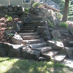 """Natural Stone Staircase by Greenhaven Landscapes <a style=""""margin-left:10px; font-size:0.8em;"""" href=""""http://www.flickr.com/photos/117326093@N05/12994561563/"""" target=""""_blank"""">@flickr</a>"""