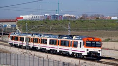 madrid railroad valencia train tren spain el spanish 200 railways regional cuenca casar getafe renfe 592 adif utiel