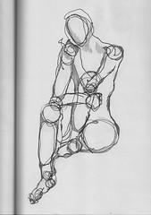 life drawing (MissPatea) Tags: life blind drawing line loose