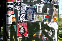 stickers (wojofoto) Tags: streetart amsterdam stickerart stickers wojo a1one wojofoto