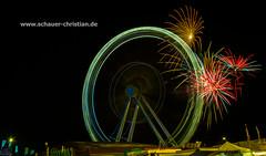 Feuerwerk / Firework in der Passauer Dult 2014