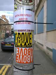 Mobstr? (nolionsinengland) Tags: above sticker nolionsinengland withrespect wwwshoreditchstreetarttourscouk shoreditchstreetarttours