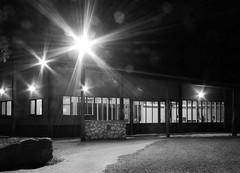 Mallee Bush Retreat (phunnyfotos) Tags: light bw architecture night lights mono nikon australia monotone victoria retreat vic accommodation hopetoun corrugated corrugatediron mallee archidose d5100 lakelascelles nikond5100 phunnyfotos jamesbrearley malleebushretreat