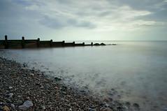 Cleveleys (DavidRHScott) Tags: uk longexposure sea england beach britain lancashire groynes cleveleys ndfilter nd110 bigstopper