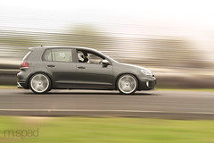 Ryan during HPDE (m.spad photography) Tags: auto new vw golf volkswagen lens high nikon driving slow cross performance nj racing event shutter jersey gti nikkor panning d3 englishtown 70200mm mk6 mark6