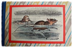 O Mouse, do you know the way out of this pool. O Mouse! (omoo) Tags: newyorkcity mouse book apartment alice interior westvillage collection mousie greenwichvillage aliceinwonderland lewiscarroll johntennielillustrationcoloredbyfritzkredel aliceandthemouse omousedoyouknowthewayoutofthispooliamverytiredofswimmingabouthereomouse 2volspecialeditionrandomhouse1946
