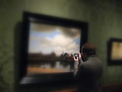 View of Delft (Odddutch) Tags: art painting kunst painter vermeer paysbas goudeneeuw gezichtopdelft viewofdelft