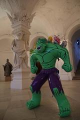 photoset: Belvedere / Sala Terrena: Jeff Koons - Hulk (seit 4.9.2014)