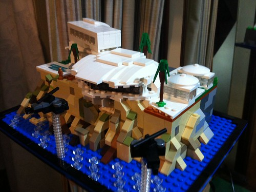 Lego Ironman 3 malibu mansion - a photo on Flickriver