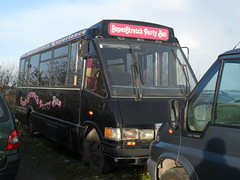 Party Bus Williams 160115 (ade torquay) Tags: cornwall williams tyne gateshead tw partybus camborne optare k367scn hui7667