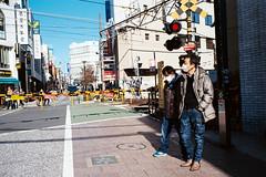 Jiyugaoka Weekend Ritual (EricDanPhoto) Tags: leica japan tokyo kodak shibuya january summicron 175 2015 supergold pakonf135