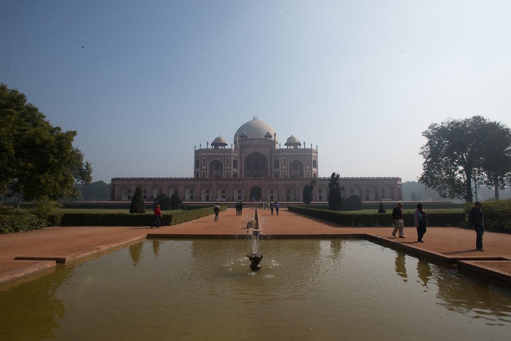 Humayun's tomb - a spectacular sight