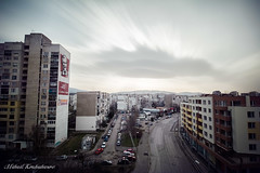 Liulin-1279 (Mihail Kozuharov) Tags: city longexposure sky clouds cityscape sofia weldingglass liulin