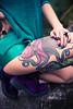 Okami Suicide (NatVon Photography) Tags: fashion tattoo berkeley model tattoos rings bayarea octopus suicidegirls choker octopustattoo rogueandwolf