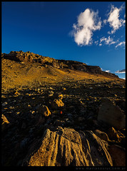Al pie del Cerro Calafate