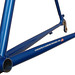 Gunnar Sport in Blue Flame with White Builseye decals - Chainstay detail.