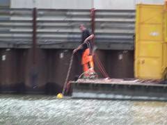 Rotterdam. Waar nu de Markthal staat. (Eduard van Bergen) Tags: holland water netherlands dutch station amsterdam june museum town construction rotte