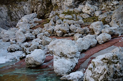 Val d'Arzino (Emilio Pellegrinon) Tags: winter wild mountain water rocks pentax magic natur shapes natura rocce acqua inverno montagna forme torrent k5 friuli geometrie torrente geometries tamron1750 arzino