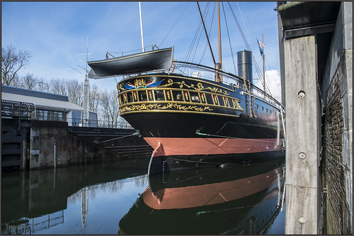 """Hellevoetsluis - Droogdok Jan Blanken en De Buffel • <a style=""""font-size:0.8em;"""" href=""""http://www.flickr.com/photos/126463948@N07/16432479181/"""" target=""""_blank"""">View on Flickr</a>"""