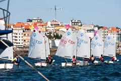Sanxenxo acoge el Campeonato Gallego de Optimist