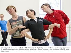 OBT - Cinderella 2015 Rehearsal (Oregon Ballet Theatre) Tags: cinderella obt yeli oregonballettheatre benstevenson brettbauer blainetruittcovert michaellinsmeier