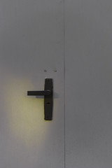 (Kirill Dorokhov) Tags: door light sunset sun black face wall facade matt grey dawn key iron paint ray doors hole lock painted gray entrance minimal soviet rays kazakhstan spor almaty ussr  kirill handke     dorokhov