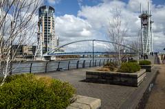 Mayday Walk 03 (jason_hindle) Tags: manchester unitedkingdom lowrybridge salfordquays ricoh ricohgr gr