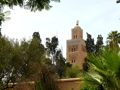 Marrakech Koutoubia (Romain & Claire) Tags: voyage maroc marrakech koutoubia