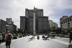 Union Square, San Francisco (mark.hogan) Tags: sanfrancisco california monument architecture downtown wideangle unionsquare