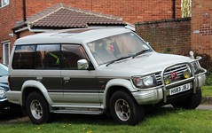 H583 JBJ (Nivek.Old.Gold) Tags: turbo 1991 mitsubishi pajero intercooler lwb exceed 2470cc