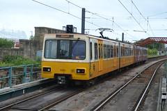 Tyne & Wear Metro 4001 & 4040 (dwb transport photos) Tags: stpeters sunderland metrocar 4001 4040 tynewearmetro